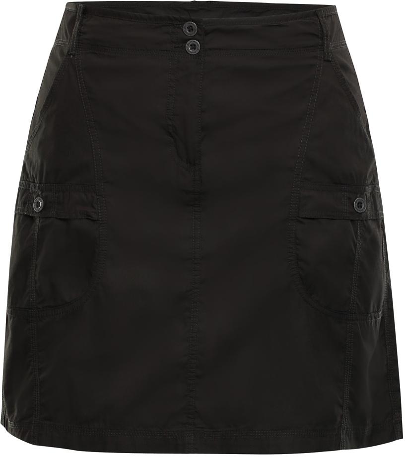 ALPINE PRO WINEMA 2 Dámská sukně LSKJ056986 černá olivová S