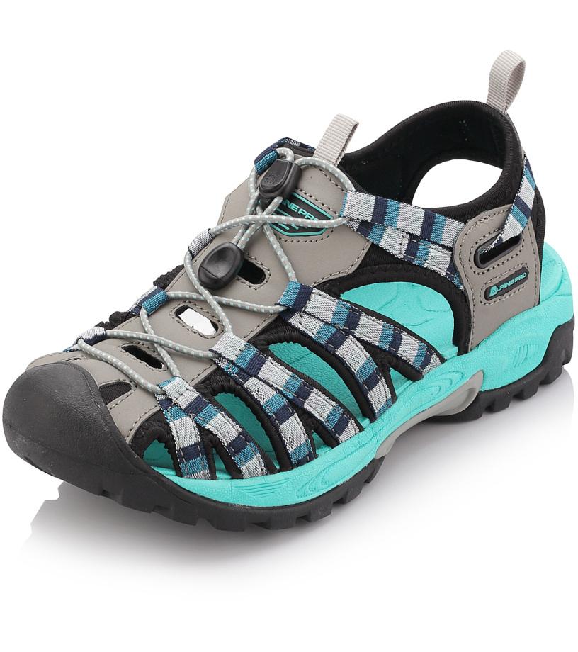 ALPINE PRO LANCASTER Unisex obuv letní UBTJ008771 světle šedá