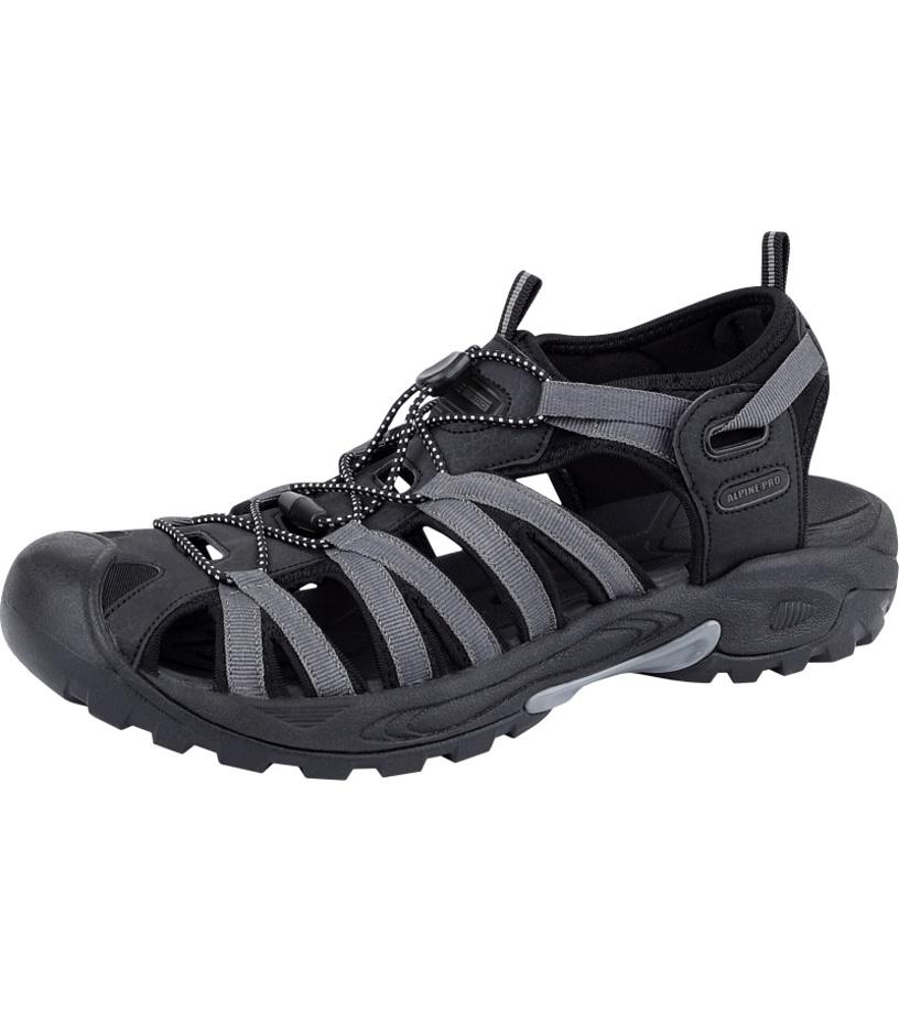 ALPINE PRO LANCASTER Unisex obuv letní UBTJ008990 černá