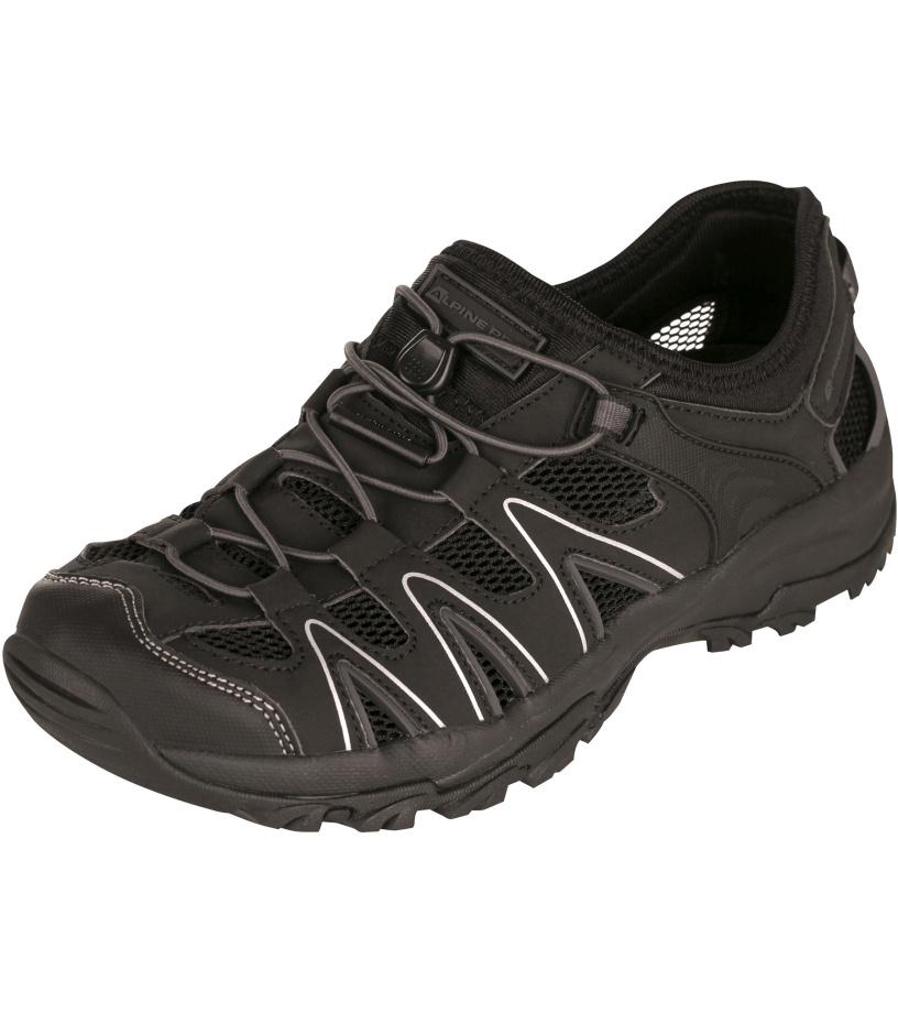 ALPINE PRO BATSU Unisex obuv letní UBTJ049990 černá