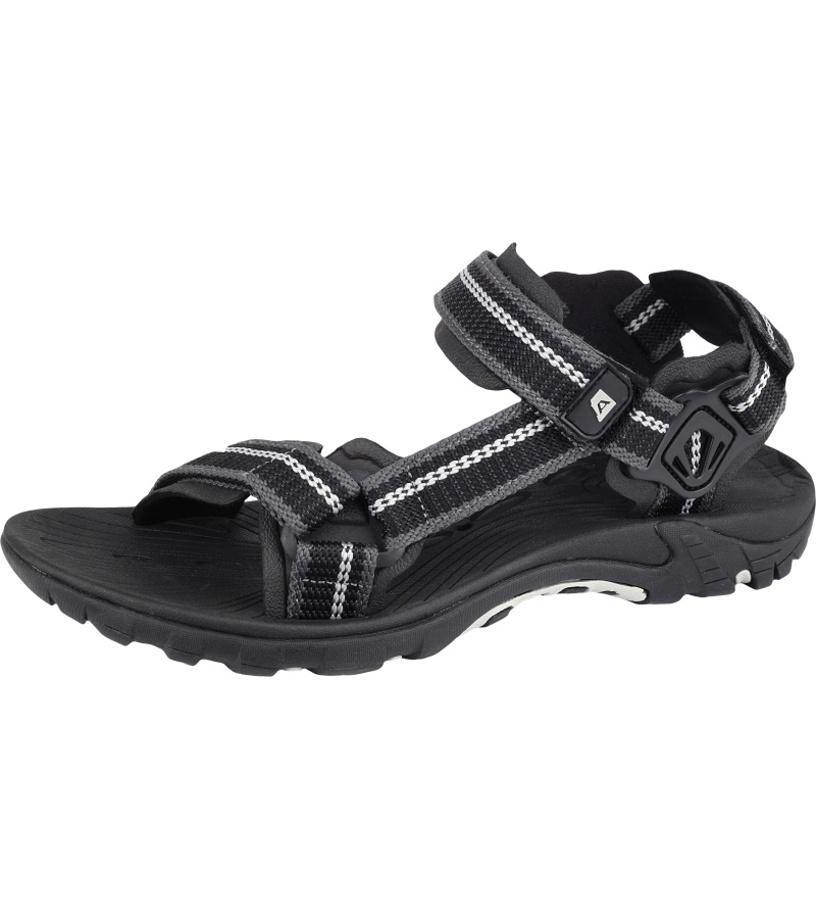 ALPINE PRO UZUME Unisex obuv letní UBTJ052990 černá