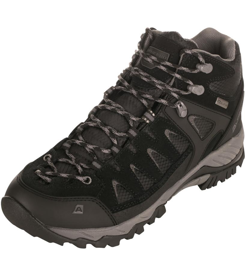 ALPINE PRO CRIMSON Unisex obuv outdoor UBTJ102990 černá 46
