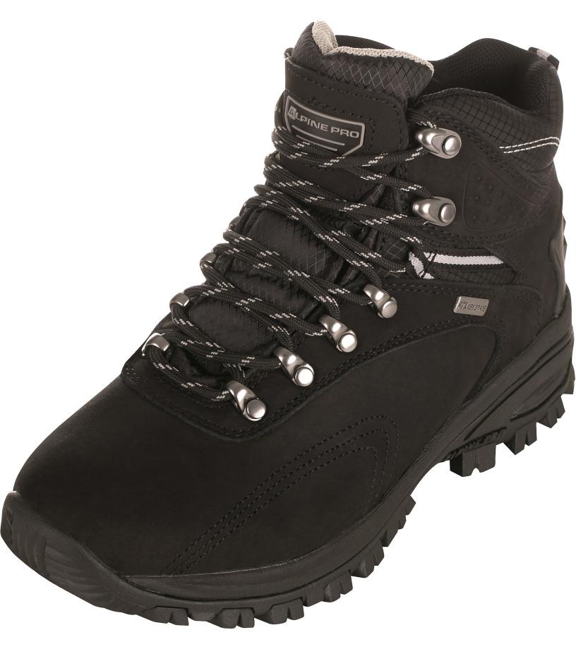 ALPINE PRO SPIDER HIGH Unisex obuv outdoor UBTJ113990 černá 38