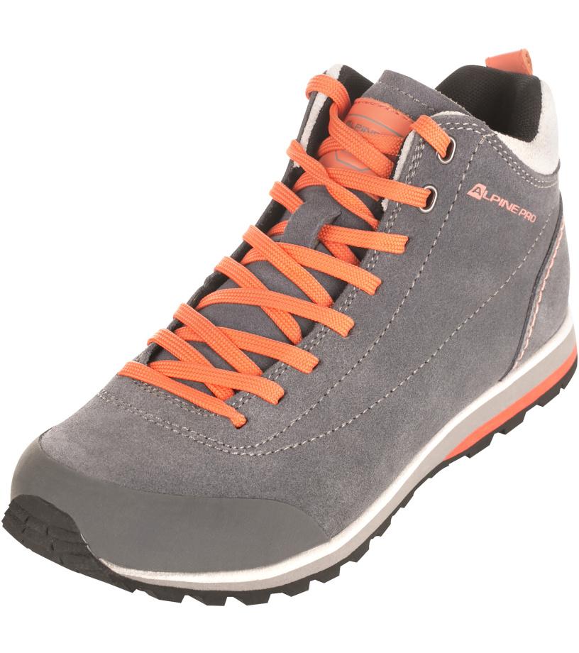 ALPINE PRO ASHAR Unisex obuv outdoor UBTJ114774 šedá