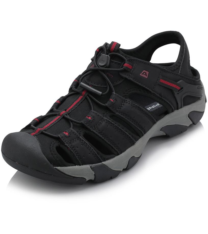 ALPINE PRO MEER Unisex obuv letní UBTJ123990 černá