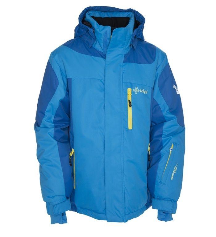 KILPI Dětská lyžařská bunda BAYRAM-JB BJ0011KIBLU Modrá 146