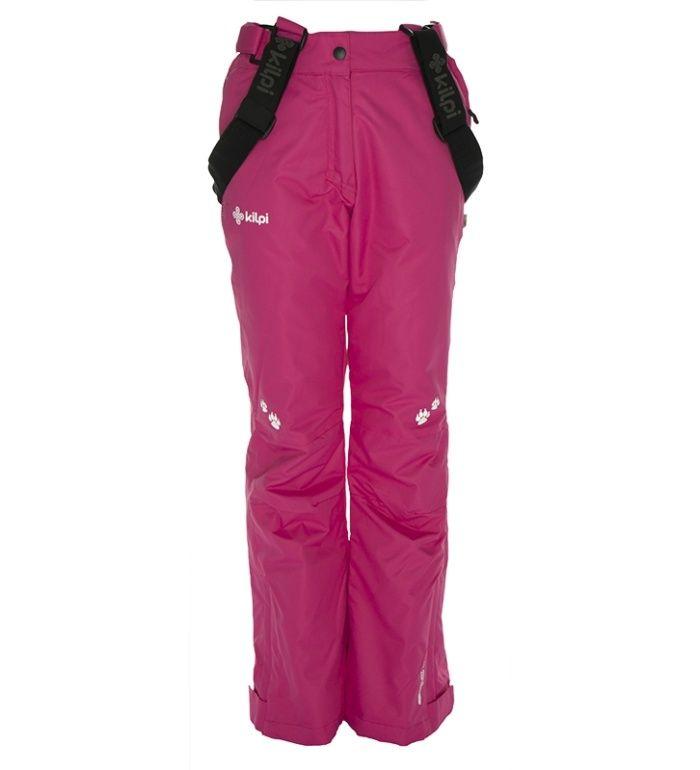 KILPI Dětské lyžařské kalhoty ANTTI-JG BJ0014KIPNK Růžová 152