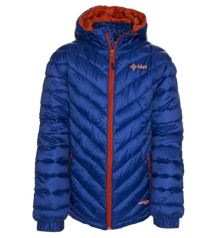KILPI Dětská zimní bunda BAKKILA-JB BJ0016KIBLU Modrá 158