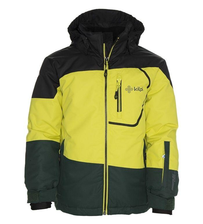 KILPI Dětská lyžařská bunda HAVAN-K BK0008KIYEL Žlutá 98_104