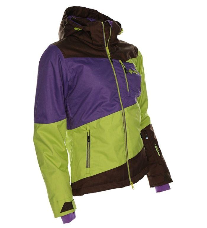KILPI Dámská snowboardová bunda HAVA BL0005KIGRN Zelená 40