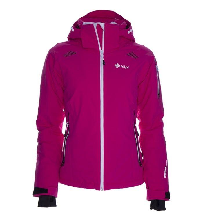 KILPI Dámská lyžařská bunda BEYA BL0009KIPNK Růžová 42