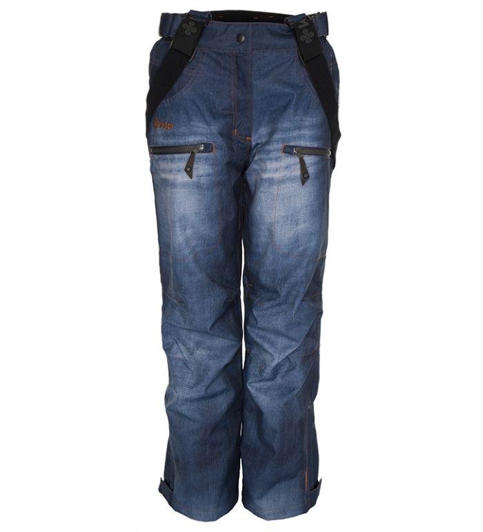 KILPI Dámské snowboardové kalhoty KALLE BL0037KIBLU Modrá 36