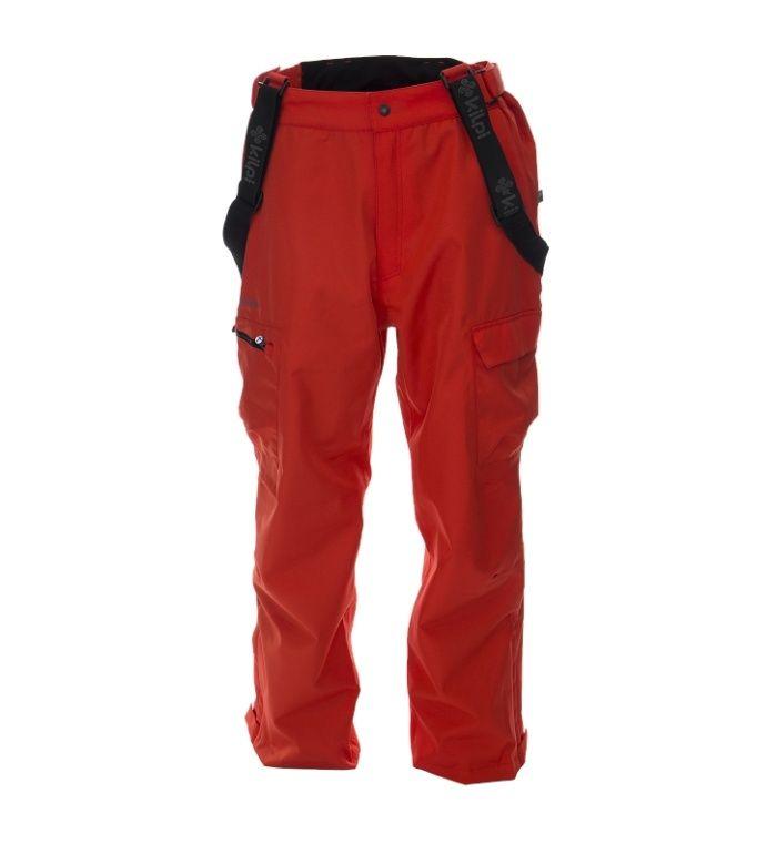 KILPI Pánské snowboardové kalhoty RUUTTILA BM0024KIRED Červená S