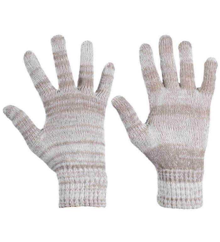 ALPINE PRO EVITA Dámské rukavice LGLD004002 krémová
