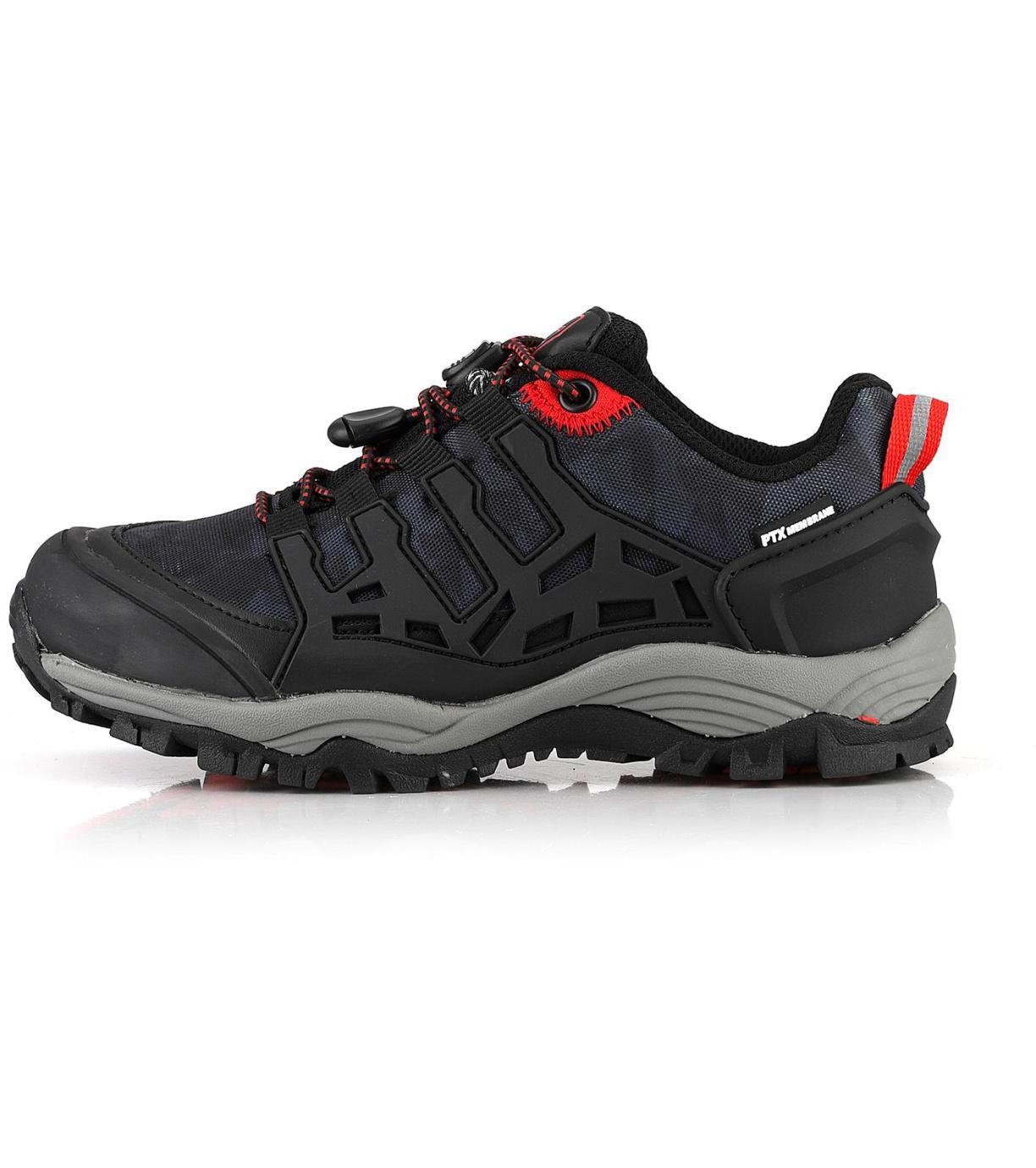ALPINE PRO GOLOVINO Dětská obuv outdoorová KBTP197990 černá 32