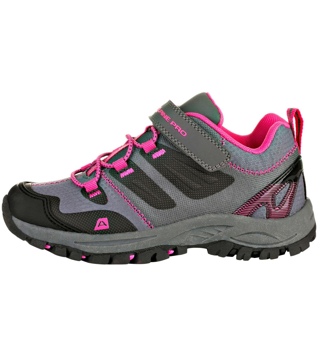 ALPINE PRO MIKIRU Dětská outdoorová obuv KBTR217452 růžová 32