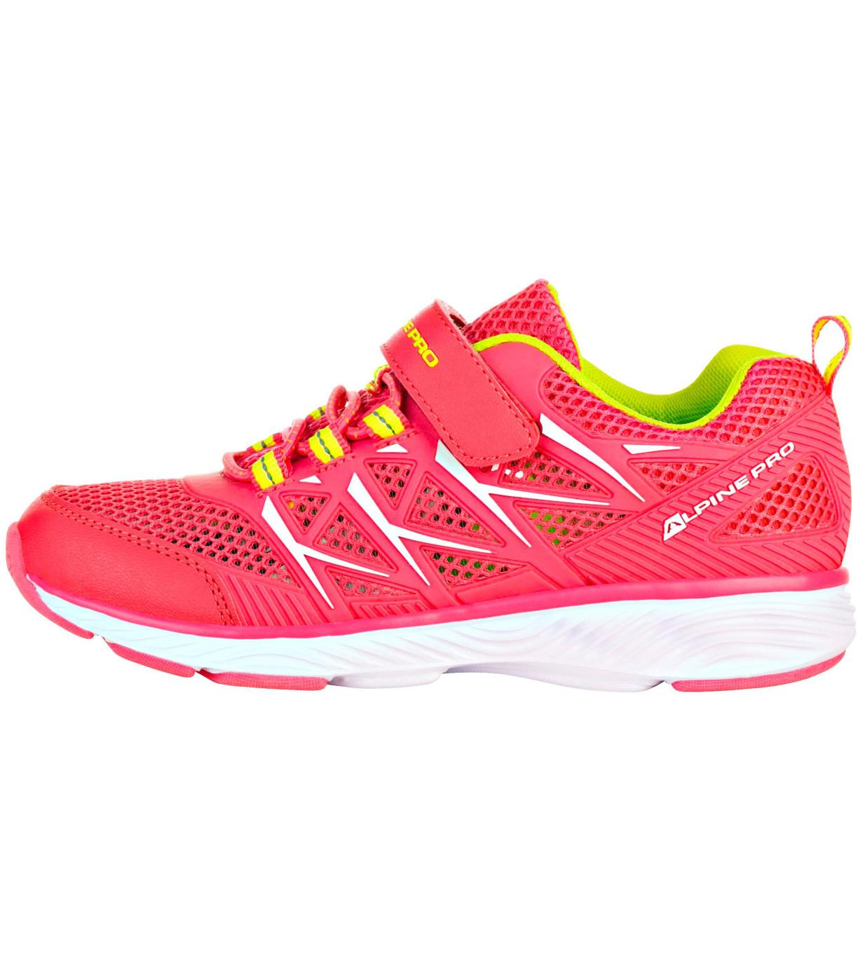 ALPINE PRO AVICESE Dětská sportovní obuv KBTR219452 růžová 34