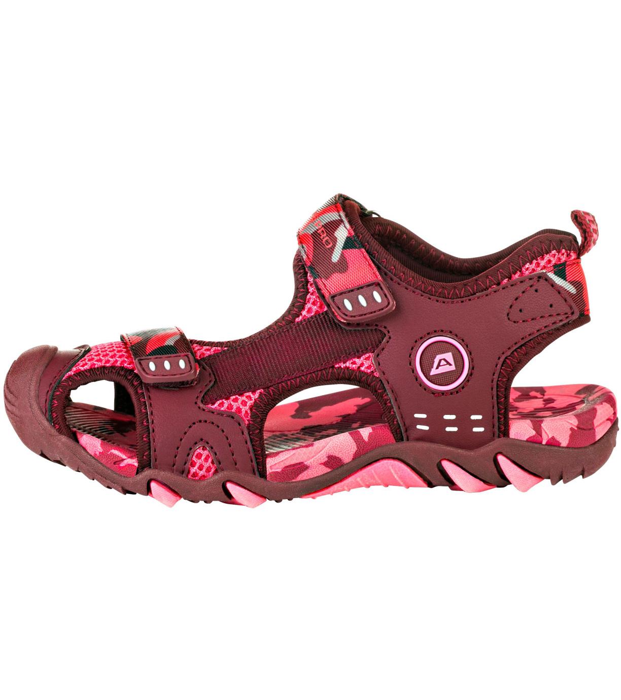 ALPINE PRO DRUSSILO Dětské sandály KBTR222419 camellia rose 32