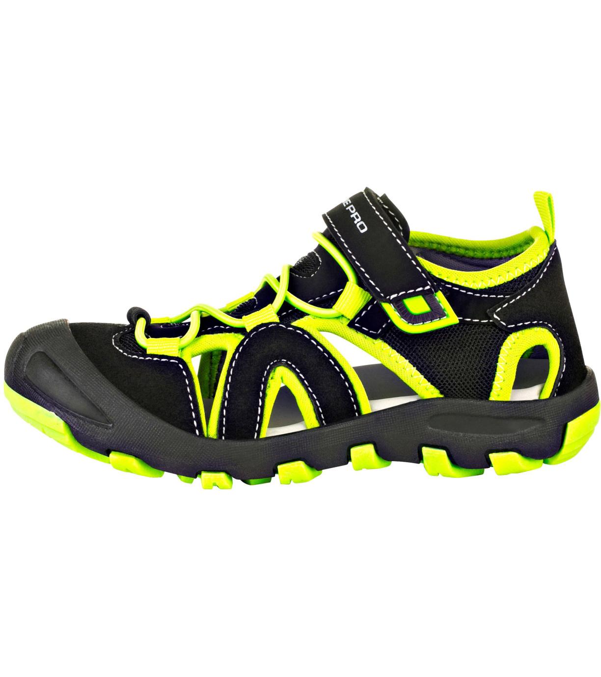 ALPINE PRO FLAVIO Dětská letní obuv KBTR223990 černá 27
