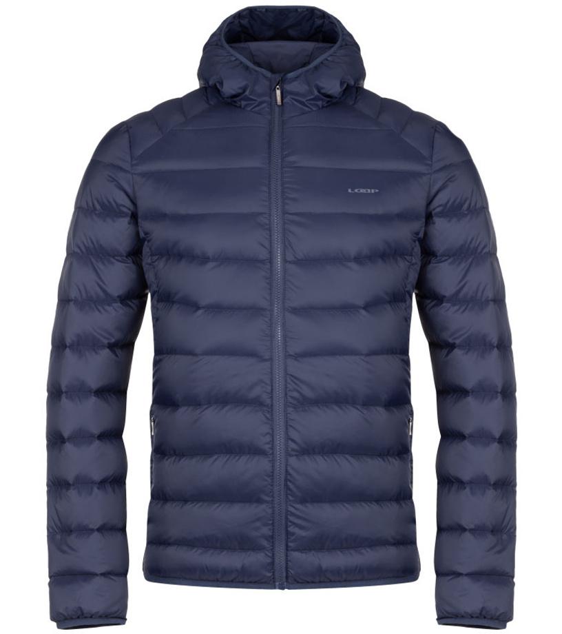 LOAP IPRY Pánská péřová zimní bunda CLM1950L13L modrá M