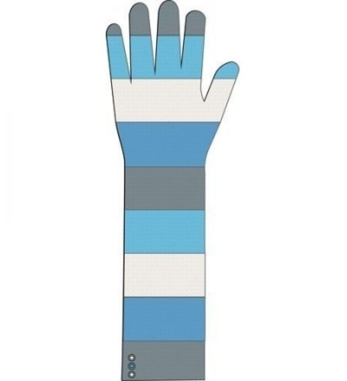 ALPINE PRO Maegan Dámské pletené rukavice 45000632 aqarius S