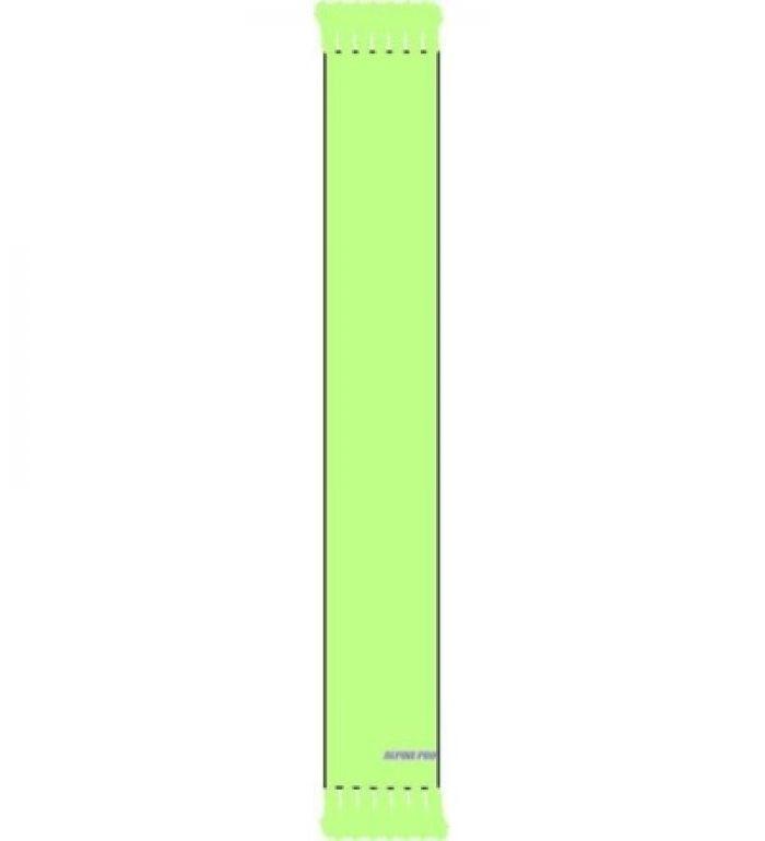 ALPINE PRO Hasan Dětská pletená šála 7744526 světle zelená UNI