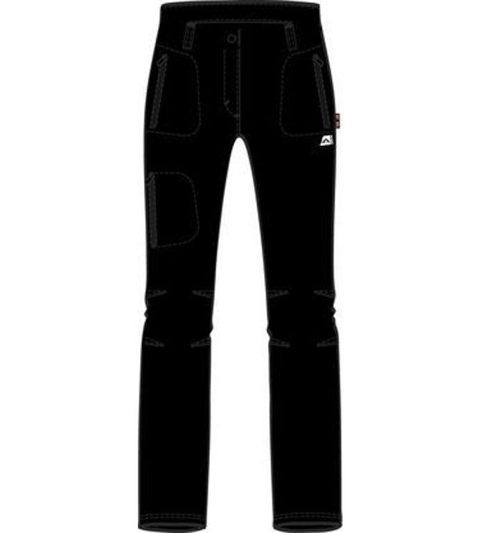 ALPINE PRO MURIA Dámské softshell kalhoty LPAB027990 černá 42