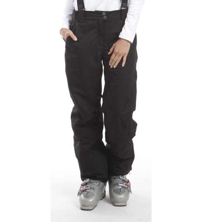 ALPINE PRO ORAZIO Dámské kalhoty LPAB036990 černá XL