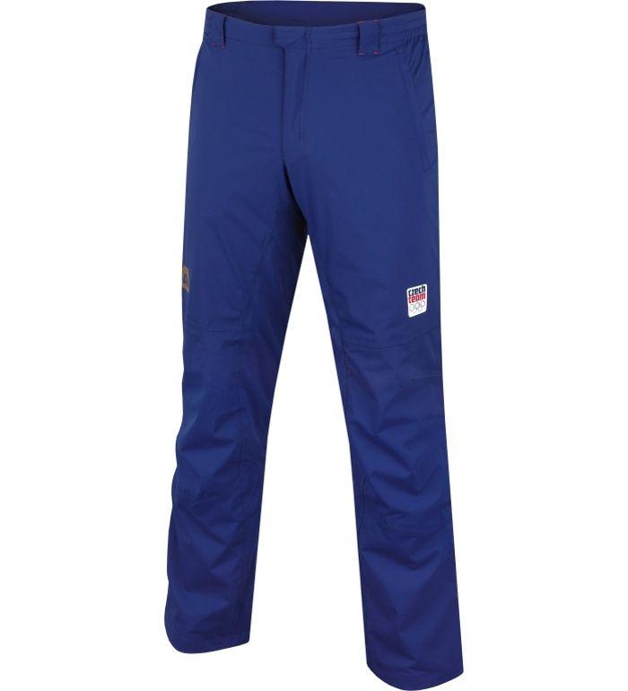 ALPINE PRO OH 14 Pánské kalhoty MPAB031623CZ tmavě modrá XXXL
