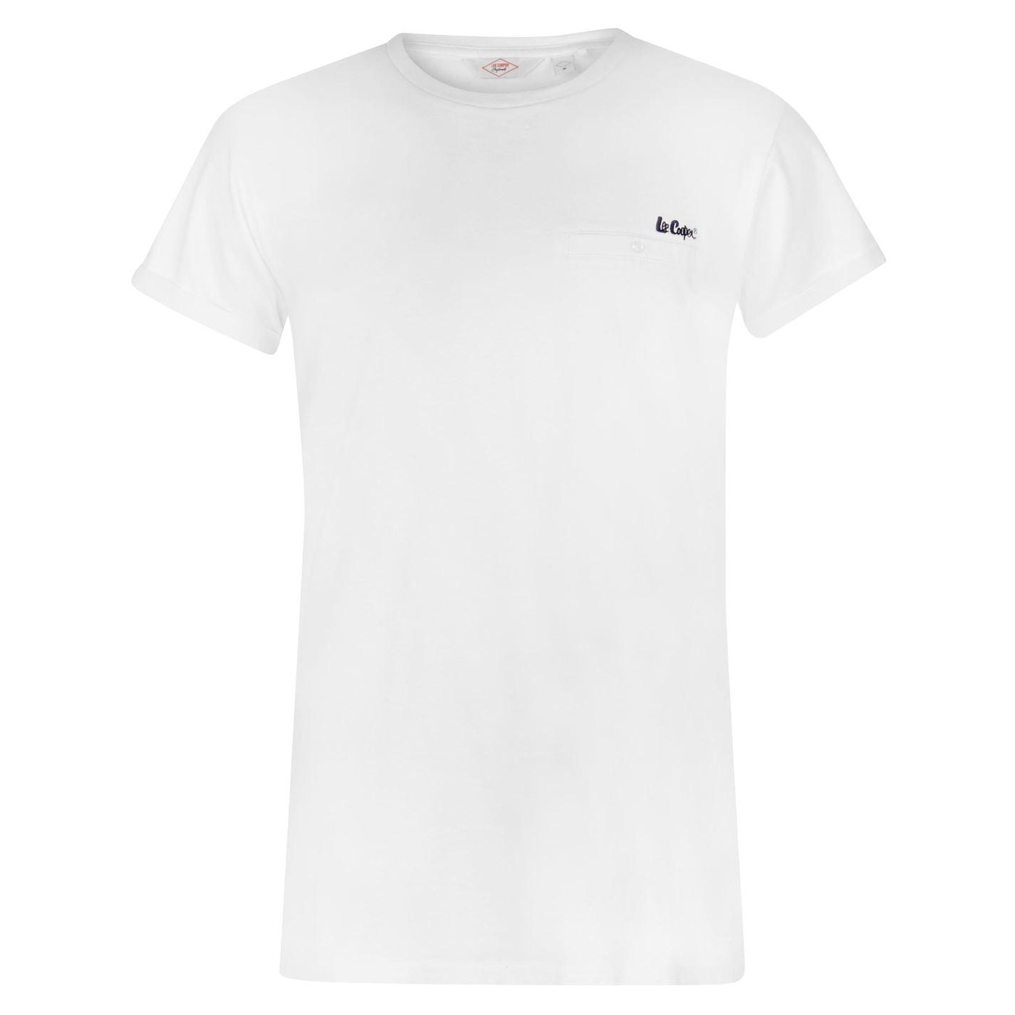 Lee Cooper Essentials Roll Sleeve Pánské triko 59841401 SD_Large