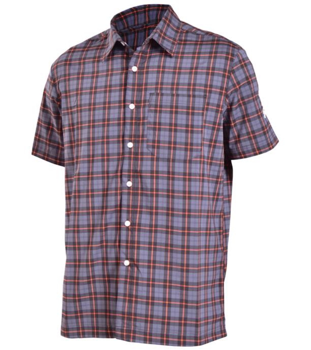 e1a74c047a90 NORTHFINDER MALVIN Pánská košile KO-3023OR269 černá L
