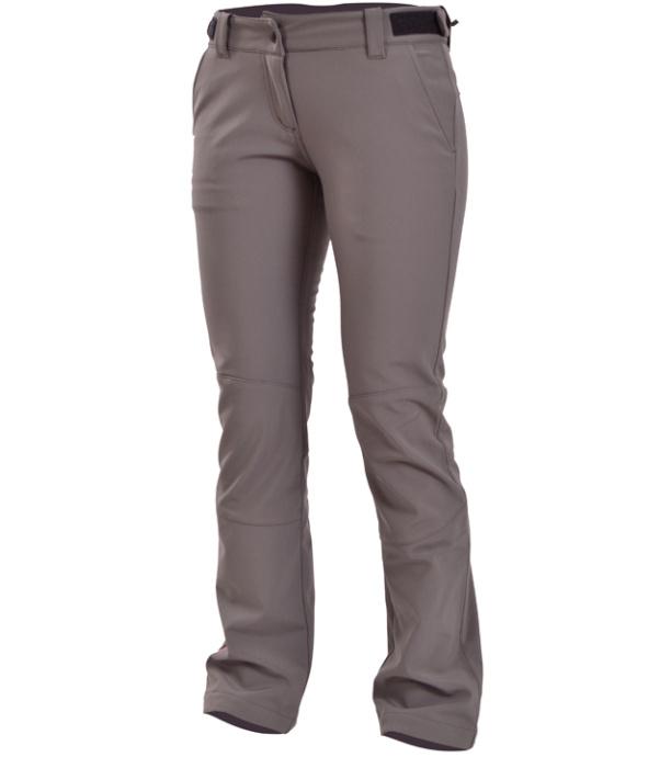 NORTHFINDER JAVION Dámské kalhoty NO-4205SI325 šedá-stříbrná XL