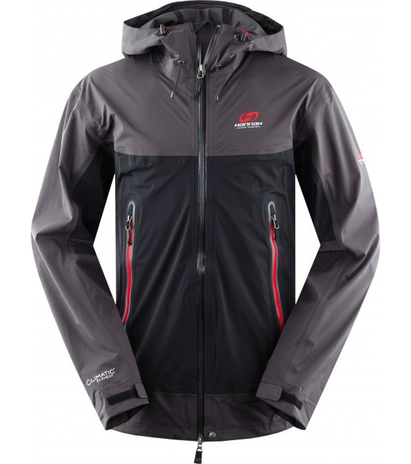 HANNAH REVENGE Pánská outdoorová bunda 114HH0002SJ02 Anthracite/graphite
