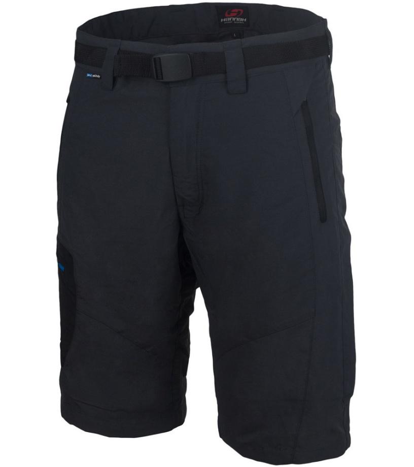 HANNAH TALLEY Pánské šortky 115HH0003LK02 Graphite S