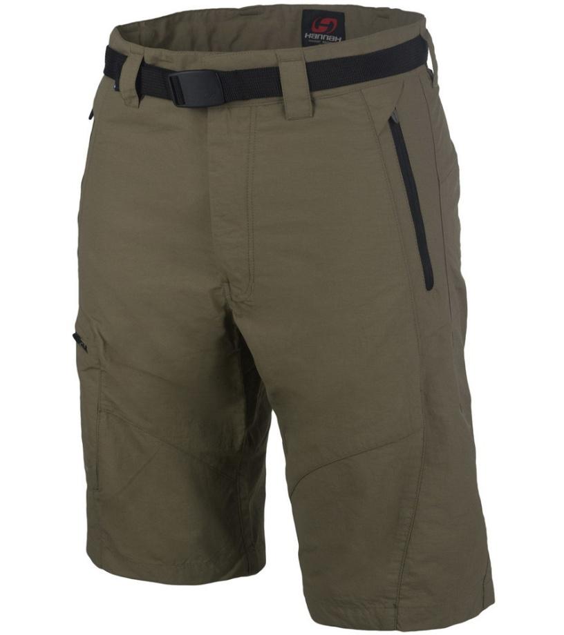 HANNAH TALLEY Pánské šortky 115HH0003LK03 Brindle M