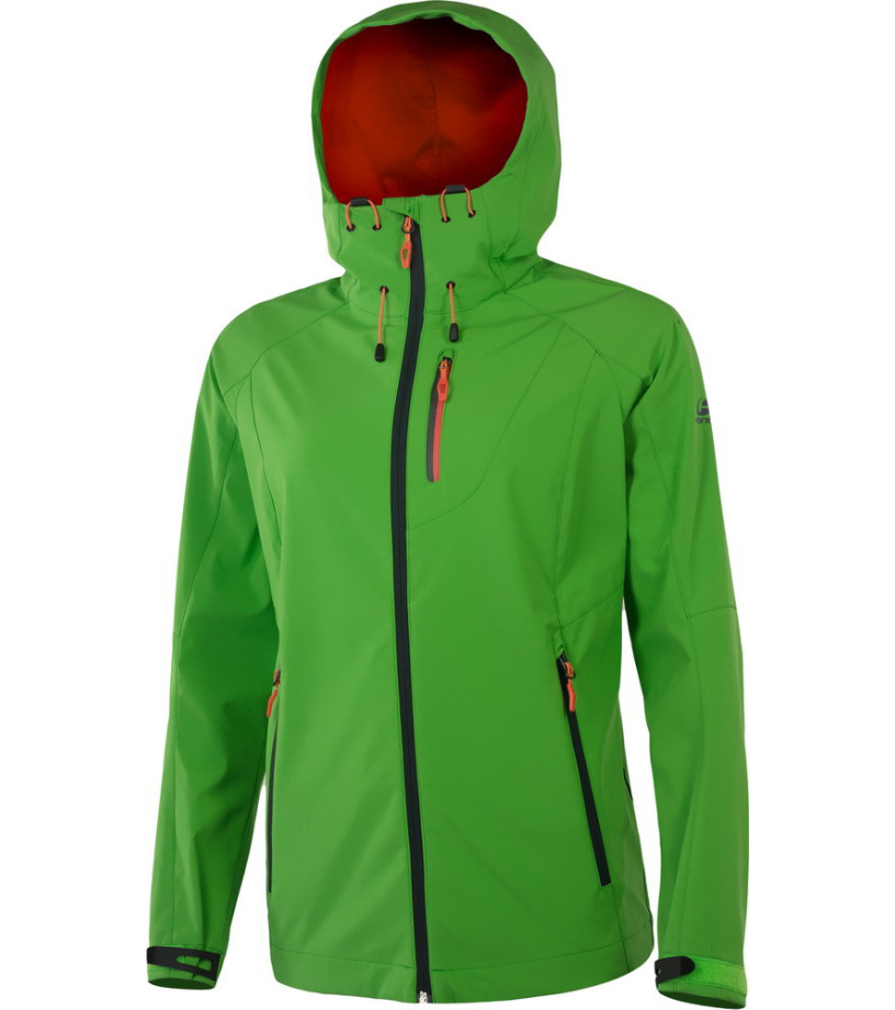 HANNAH CASIA Dámská softshellová bunda 115HH0012SJ04 Poison green 40