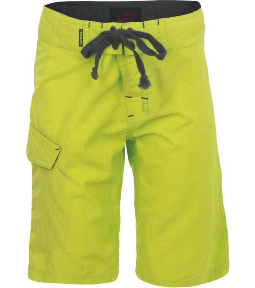 HANNAH VECTA JR Dětské šortky 115HH0015LK03 Lime punch 116