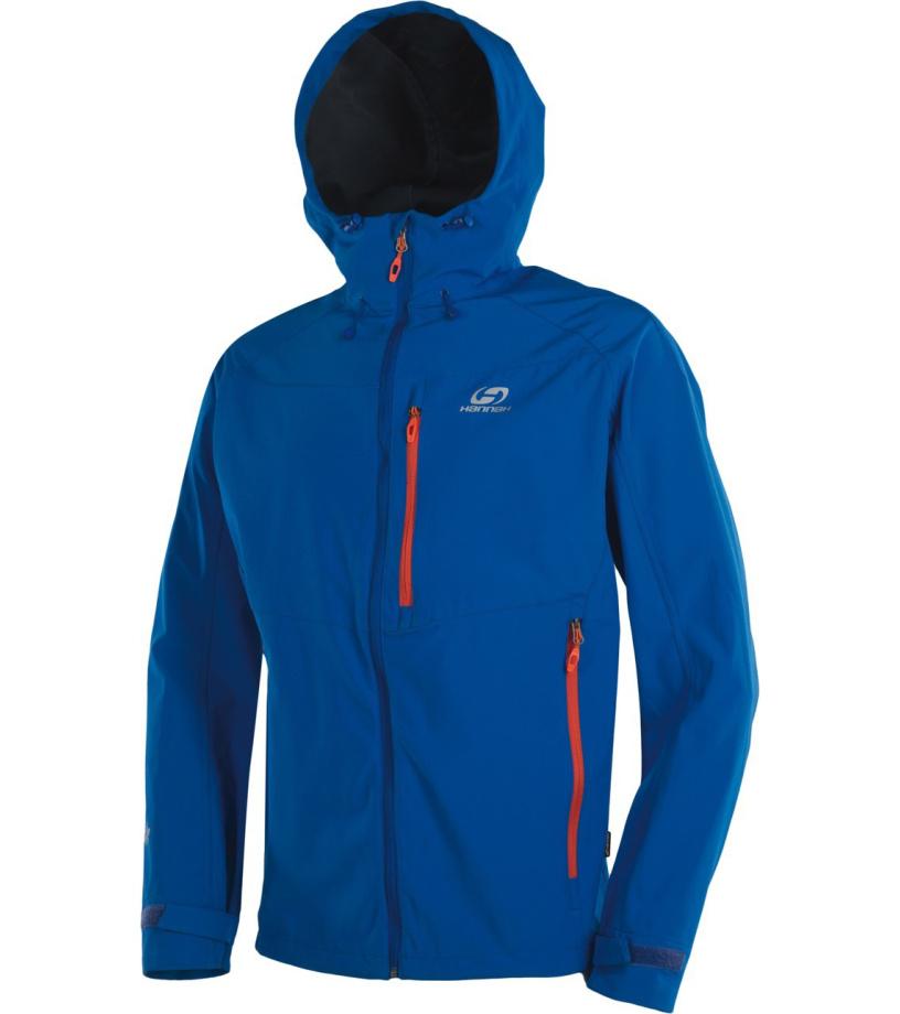 HANNAH Shiner Lite Pánská softshellová bunda 116HH0004SJ04 Victoria blue L