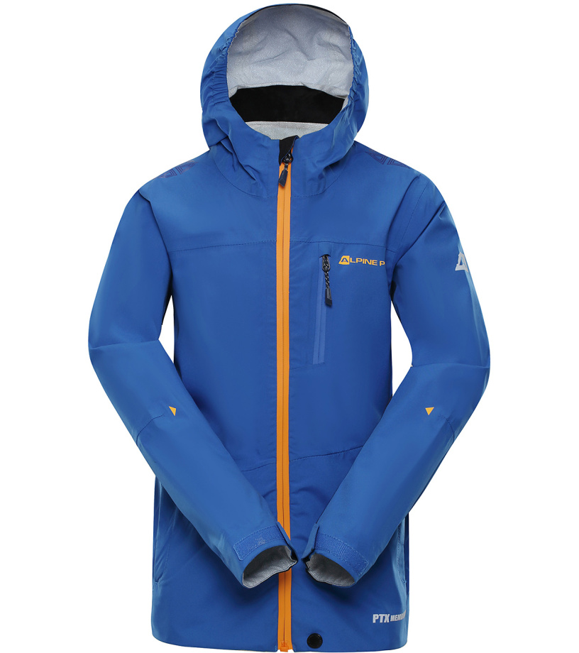 ALPINE PRO SLOCANO 2 Dětská outdoorová bunda KJCN132613 modrá 128-134