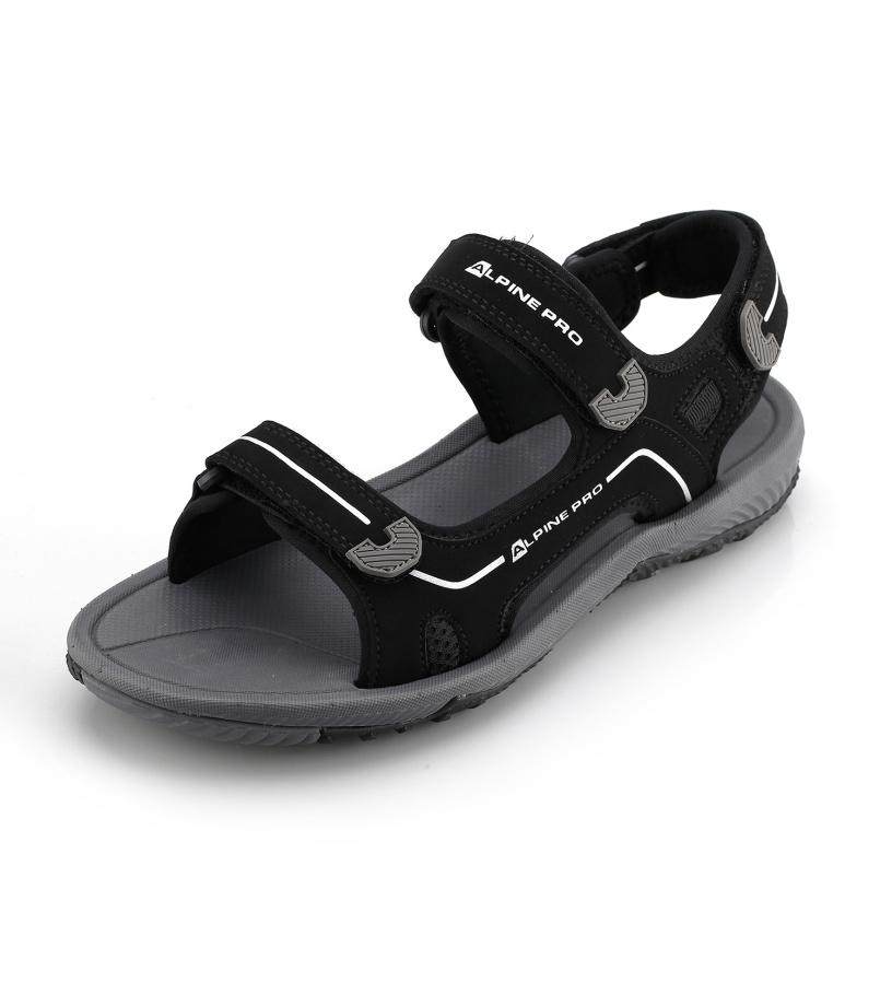 ALPINE PRO GEHEN Pánské sandály MBTN164990 černá 46
