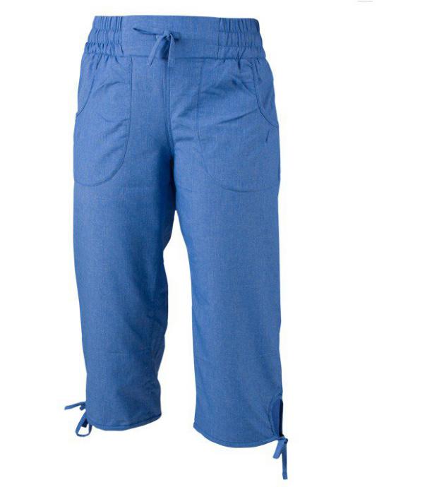 NORTHFINDER LUSIANA Dámské 3/4 kalhoty BE-41552SP281 modrá S