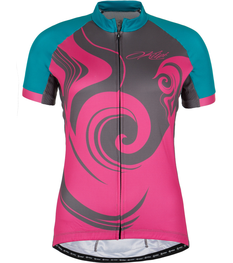 KILPI Dámský cyklistický dres FOXIERA-W GL0006KIPNK Růžová