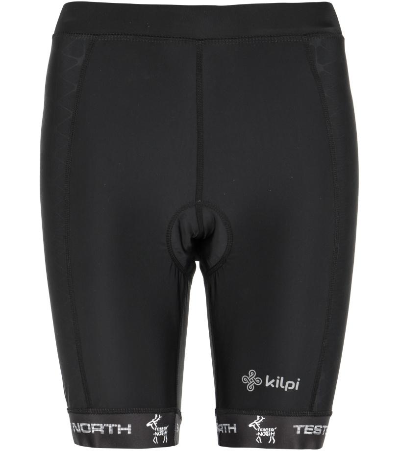 KILPI Dámské cyklistické šortky PRESSURE-W GL0110KIBLK Černá 36