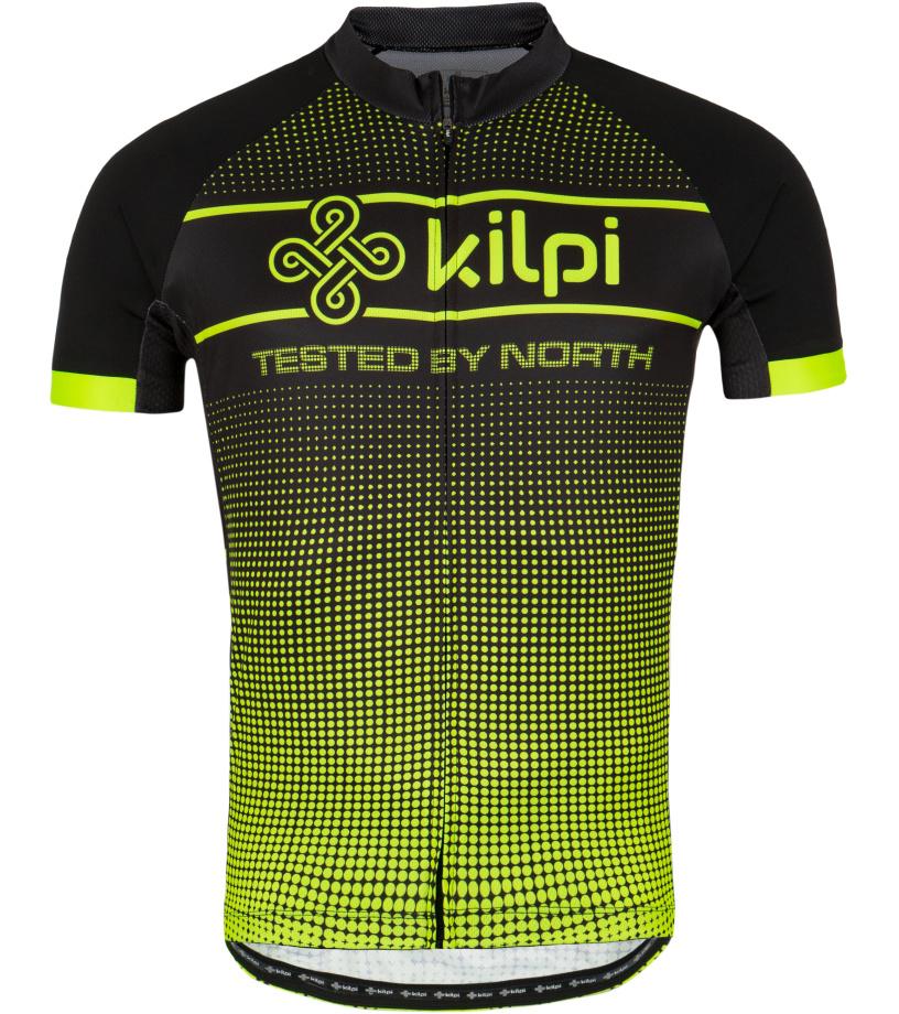 KILPI Pánský cyklistický dres ENTERO-M GM0009KIYEL Žlutá XL