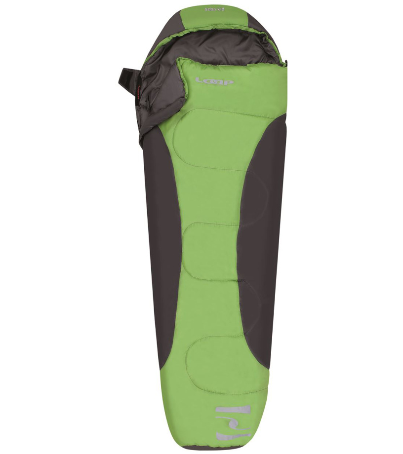 LOAP SEBA KID Spací pytel SP1618N14T par.green/dk.shadow