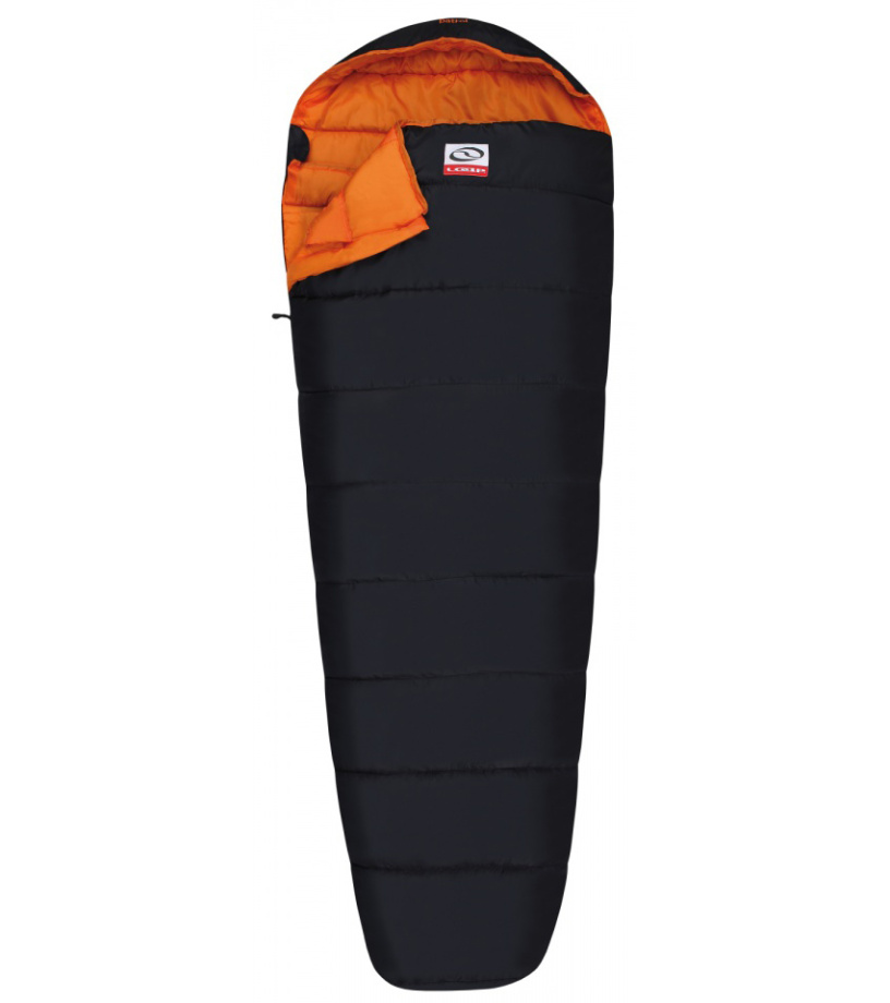LOAP PATROL Spací pytel SP1721V11E black/orange