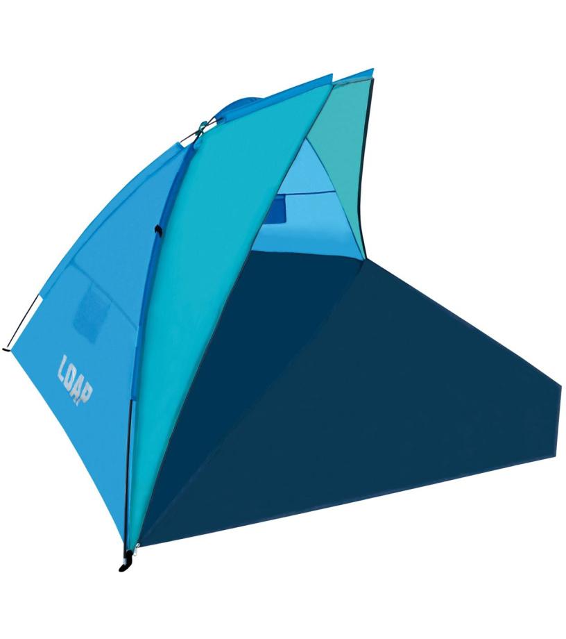 LOAP BEACH SHELTER Plážový stan TL1738L34 modrá
