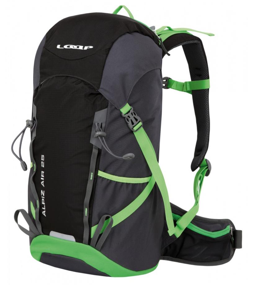 94ad4dc9e3f LOAP ALPIZ AIR 25 Hikingový batoh BH1770V11N černá lime punch