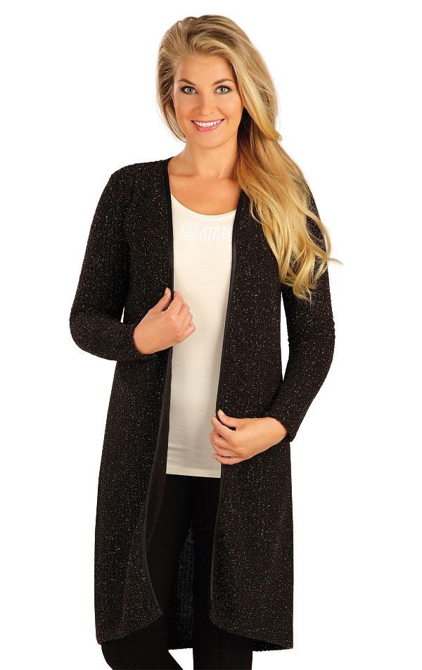 LITEX Cardigan dámský s dlouhým rukávem. 55058901 černá