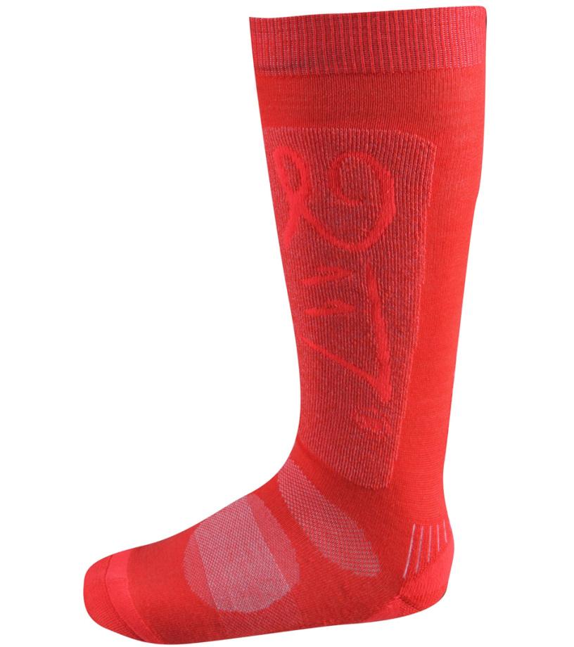 2117 OF SWEDEN Granhed Lyžařské ponožky 7158904929 Fiery pink